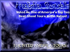 Top Ten Ghost Tours in the United States of America