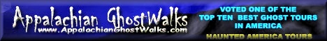 Appalachian GhostWalks Voted Top Ten Ghost Tours In The Country
