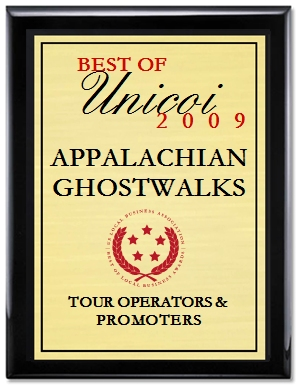 Best Ghost Tours 2009