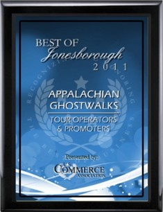 Best Jonesborough Ghost Tours 2011