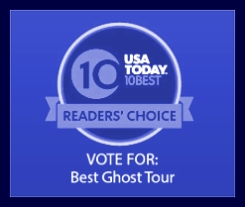 USA Today 10Best Ghost Tour